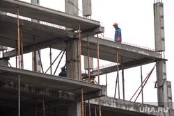 Стройка. Нижневартовск , бетон, строители, бетонные блоки, рабочие, стройка