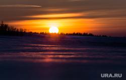 Зимняя рыбалка на реке Обь. Сургут , солнце, закат, пейзаж, небо, пеййзаж