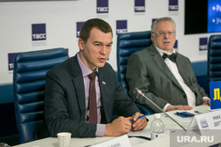 Пресс-конференция ЛДПР в ТАСС. Москва, дегтярев михаил