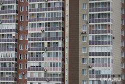 Разное. Курган, многоэтажка, окна, новострой, квартиры, многоквартирный дом