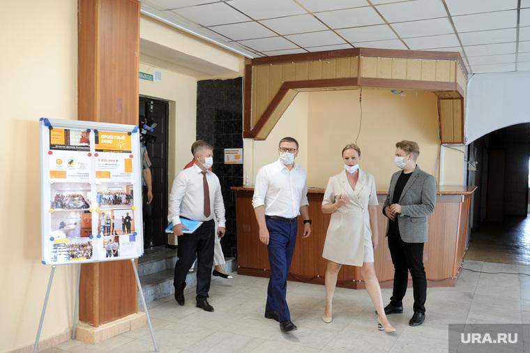 Текслер, инспекционная поездка в касли и Озерск. Челябинская область