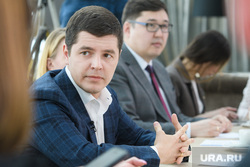 Встреча Дмитрия Артюхова с журналистами. Салехард, портрет, артюхов дмитрий