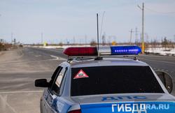 Пост ДПС на трассе. Сургутский район, машина дпс, полицейская машина, полиция, гибдд, дпс
