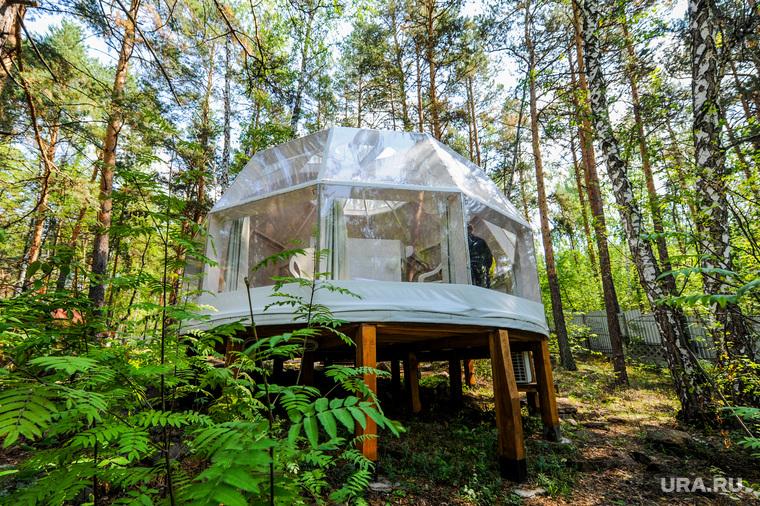 Глэмпинг – новый для Южного Урала формат сезонного экоотеля. Челябинская область