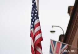 Генеральное консульство США и Великобритании. Екатеринбург, флаг сша, флаг великобритании, консульство сша великобритании, флаги