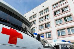 Инспекционная поездка Алексея Текслера в Касли и Озерск. Челябинская область, красный крест, скорая помошь