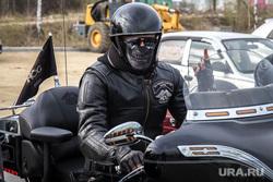 Открытие сезона Harley-Davidson. Екатеринбург, маска, каска, байкер