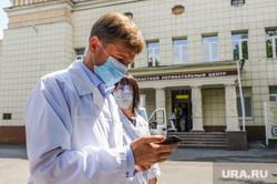 В перинатальном центре открывается новая госпитальная база для больных коронавирусом. Челябинск, роддом, врач, перинатальный центр, медик, семенов юрий