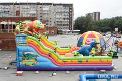 Виды Екатеринбурга, батут, жби