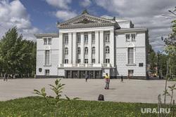 Виды Перми. г. Пермь, театр оперы и балета, пермь