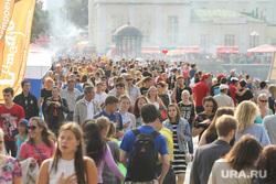 День города, Екатеринбург, 14.08.16, горожане, плотинка, толпа