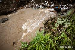 Последствия паводка в городе Нижние Серги. Свердловская область, мчс, паводок, нижние серги, наводнение, потоп, режим чс