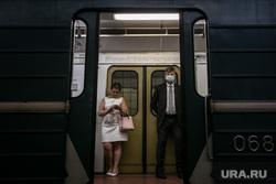 Москва, разное. Москва, метро, вагон, масочный режим