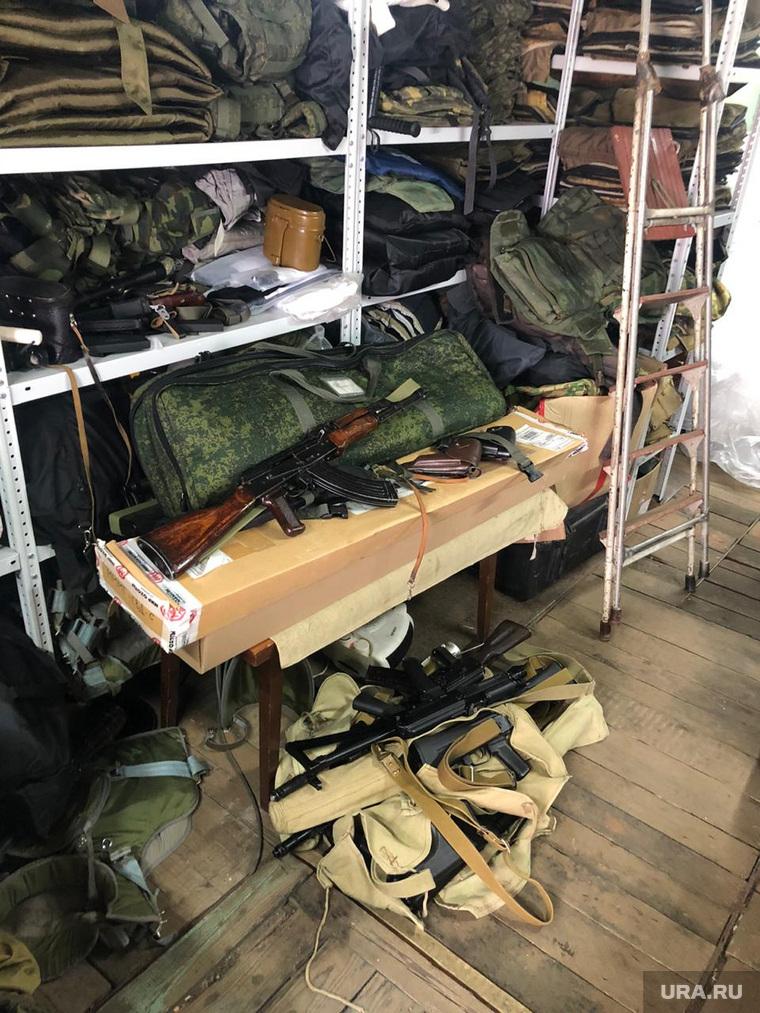 Конфискованные бронежилеты. Екатеринбург