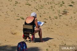 Закрытие пляжа Голубые озера. Курган , отпуск, загар, лето, голубые озера, женщина, плавание, отдых, купание