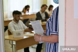 Единый государственный экзамен. Курган, егэ, экзамен, школа, ученики, школьная парта