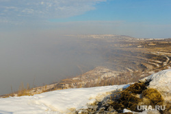 Рабочая поездка врио губернатора Алексея Текслера в Коркино и Полетаево. Челябинская область, дым, коркинский разрез, эндогенные пожары