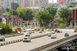 Открытие дорожной развязки по улице Братьев Кашириных. Челябинск, дорожная развязка, магистраль, путепровод, дорога