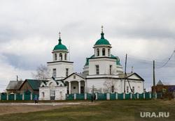 Визит врио губернатора Шумкова в Звериноголовский район Курган, церковь, храм