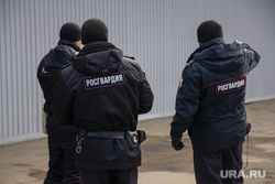 Последствия от взрыва газа в доме № 19 на улице Доменщиков. Магнитогорск, росгвардия