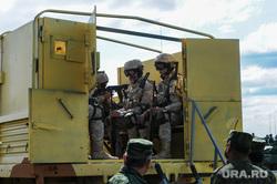 Антитеррористические учения «Мирная миссия - 2018». Челябинск, армия, пулемет, оружие, вооружение, Сирия, война
