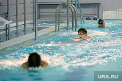 Общественная приемка спортивного комплекса с 50-метровым бассейном при участии губернатора ХМАО Натальи Комаровой. Сургут , бассейн, спорт, плавание