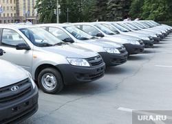 Вручение транспорта ГИБДД Челябинск, машина, ваз, авто, лада гранта, гибдд