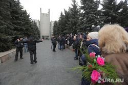 Похороны Юлии Началовой. Москва, троекуровское кладбище