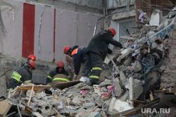Взрыв бытового газа в доме № 164 на проспекте Карла Маркса. Часть 7. Магнитогорск, мчс, разбор завалов