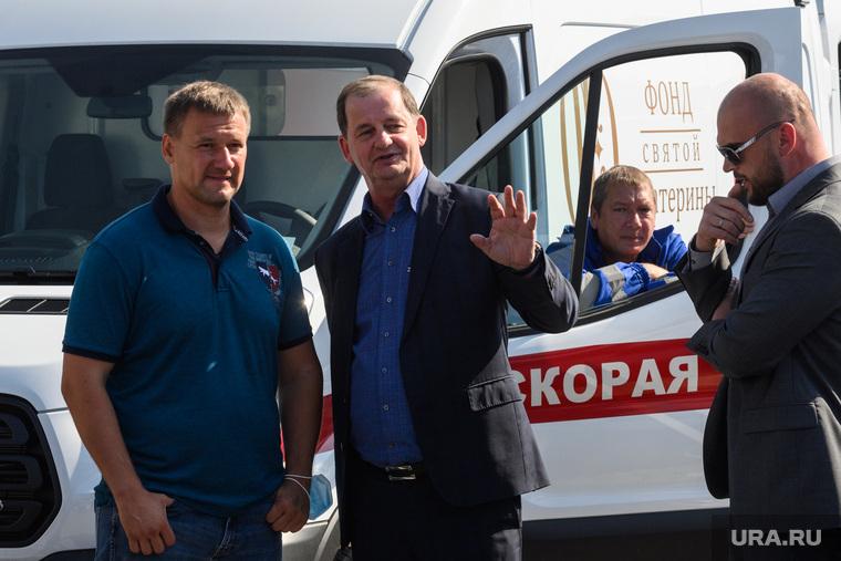 Машины Скорой помощи от Фонда святой Екатерины. Екатеринбург
