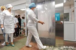 Областная больница №3. Челябинск, минздрав, дезинфекция, медицина, врач, дезинфицирующая кабина, дезинфицирующая камера