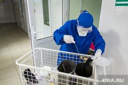 Госпитальная база по лечению коронавирусной инфекции. Магнитогорск, лечение, защитные очки, больница, еда, covid19, коронавирус, ковид, противочумной костюм, больничная еда