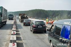 Ремонт автодорожного моста между Екатеринбургом и Первоуральском, пробка, дорожные работы, ремонт моста, ново московский тракт