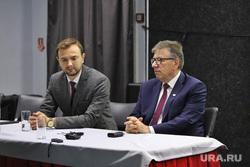 Пресс-конференция по планированию новых рейсов. Курган, коваленко дмитрий, ковалев владимир