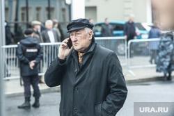Прибытие гостей на церемонию прощания с режиссером Театра «Ленком» Марком Захаровым. Москва, клюев борис