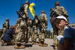 Официальный сайт президента Украины, украинская армия, украинские солдаты