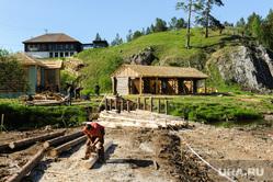 Строительство декораций для съемок сериала