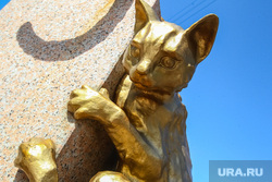 Аллея кошек. Тюмень, кошки, аллея кошек, скульптура