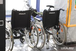 Пресс-конференция по планированию новых рейсов. Курган, инвалидные коляски