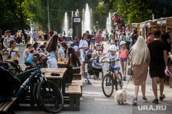 Парк Маяковского (ЦПКиО) в день ВДВ. Екатеринбург, парк маяковского, социальная дистанция, пандемия