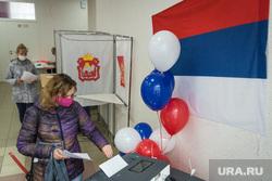 Единый день голосования. Магнитогорск, воздушные шары, кабинки для голосования, коиб, избирательный участок, бюллетень, выборы 2020