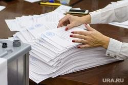Подсчёт бюллетеней опроса по храму Святой Екатерины. Екатеринбург, подсчет голосов, бюллютени, голосование