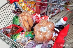 Продовольственная корзина. Курган, продукты, продовольственная корзина, продукты в тележке
