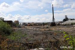 Демонтаж торговых павильонов на территории Некрасовского рынка. Курган, некрасовский рынок, демонтаж торговых павильонов