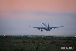 Очередной споттинг в Кольцово. Екатеринбург, взлет самолета, самолет