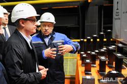 Поездка Алексея Текслера на Мечел, Челябинский металлургический комбинат. Челябинск, зюзин игорь, текслер алексей