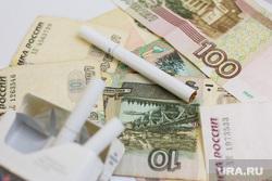 Клипарт по теме Деньги. Ханты-Мансийск , сигареты, курево, деньги