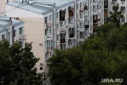 День города в Екатеринбурге. Екатеринбург, жилой дом, балконы, недвижимость, квартира, жилье