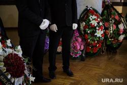 Прощальная церемония с Владимиром Аликиным. Пермь, венки, смерть, похороны