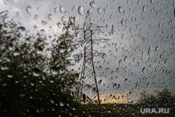 Карчевская роща. Курган, непогода, плохая погода, дождь